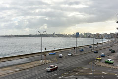 Malecon - Havana, Cuba Royalty Free Stock Photos