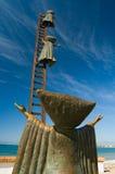 malecon posągi Fotografia Royalty Free