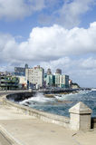 Malecon promenade Royalty Free Stock Image