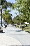 The Malecon public lakeside walkway, Ajijic Royalty Free Stock Photography