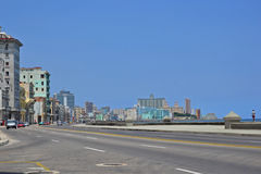 Malecon view. View of the famous Malecon in Havana, Cuba Stock Photography