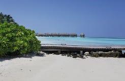 Malediven lizenzfreies stockbild