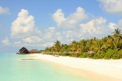 Malediven-Ansicht stockbilder