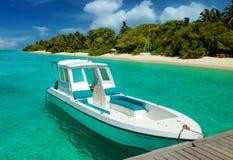 Malediven-Boot Stockfotos