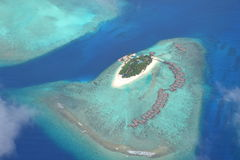Malediven-Erholungsort Lizenzfreie Stockbilder