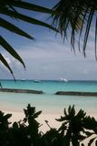 Malediven gestalteten Lizenzfreies Stockbild