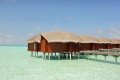 Malediven-Lagune lizenzfreie stockfotos