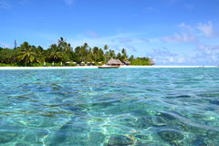 Malediven-Lagune Lizenzfreies Stockfoto