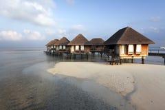Malediven-Landhaus stockbild