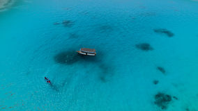 Malediven-Vogelperspektive lizenzfreie stockbilder