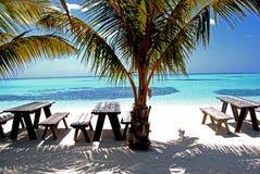 Malediven-Vogelperspektive stockfoto