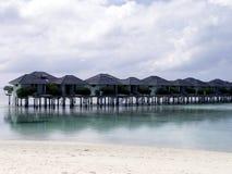 Maledives - остров Солнця Стоковые Изображения