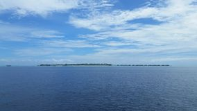 Maledivisch Eiland Royalty-vrije Stock Afbeelding
