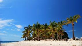Maledivische Insel Stockfotografie
