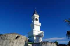 Maledivische moskee Royalty-vrije Stock Fotografie
