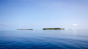 Maledivische toevlucht Royalty-vrije Stock Afbeelding