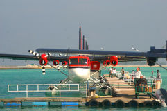 Maledivisches Luft-Rollen Lizenzfreies Stockbild