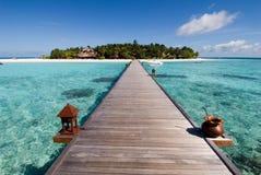 malediwy seascape Obrazy Royalty Free