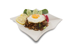 Maleis Fried Noodle Royalty-vrije Stock Foto's