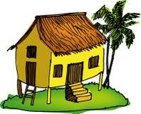 Maleis huis vector illustratie