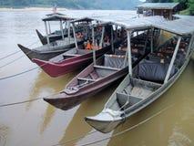 Maleise boten Stock Afbeeldingen
