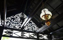 Maleise etnische lantaarn royalty-vrije stock afbeeldingen