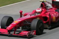 Maleise F1 GP - Kimi Raikkonen (Ferrari) Stock Fotografie