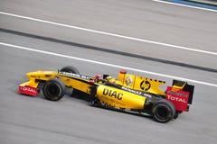 Maleise F1 Grand Prix - Robert Kubica Stock Afbeelding