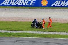 Maleisië motogp 2011 Stock Afbeelding