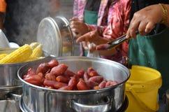 Maleisisch straatvoedsel Royalty-vrije Stock Fotografie