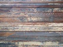 Malen Sie überlagerte alte hölzerne Bretter Lizenzfreie Stockfotos