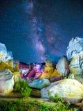 Malen Sie Bergwerke in Colorado Lizenzfreies Stockbild