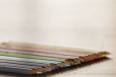 Malen Sie Farben mit scharfen Punkten Lizenzfreie Stockfotos