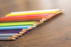 Malen Sie Farben mit scharfen Punkten Lizenzfreies Stockfoto