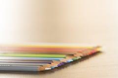 Malen Sie Farben mit scharfen Punkten Stockbilder