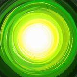 Malen Sie grünen Kreishintergrund Lizenzfreie Stockfotografie