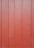Malen Sie hölzernes Rot Stockfotos