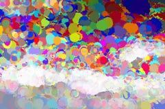 Malen Sie Hintergrund Lizenzfreies Stockfoto