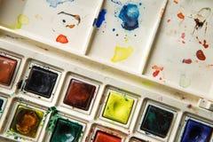Malen Sie Kasten Stockfotografie