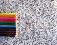 Malen Sie kein stres colorfull stockbilder