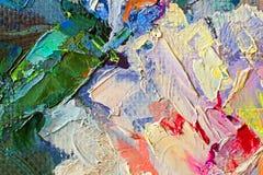 Malen Sie Palettenhintergrund Stockfotos