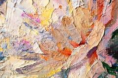 Malen Sie Palettenhintergrund Lizenzfreie Stockbilder