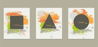 Malen Sie plätschern Design Stockfotos