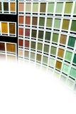 Malen Sie Proben Stockbilder
