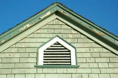 Malen Sie Schale auf Gebäude Lizenzfreies Stockbild