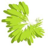 Malen Sie Splatter-Beschaffenheits-Grün stock abbildung