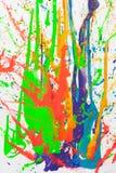 Malen Sie Spritzen Lizenzfreies Stockbild