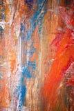 Malende künstlerische helle Farbölfarben masern abstrakte Grafik Modernes futuristisches Muster für Schmutztapete Lizenzfreie Stockbilder
