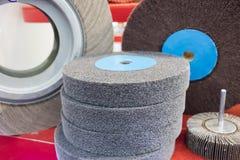 Malende wielen voor metaalbewerking; Royalty-vrije Stock Fotografie
