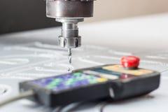 Malenmachine om plastieken en afstandsbediening te verwerken Royalty-vrije Stock Afbeeldingen